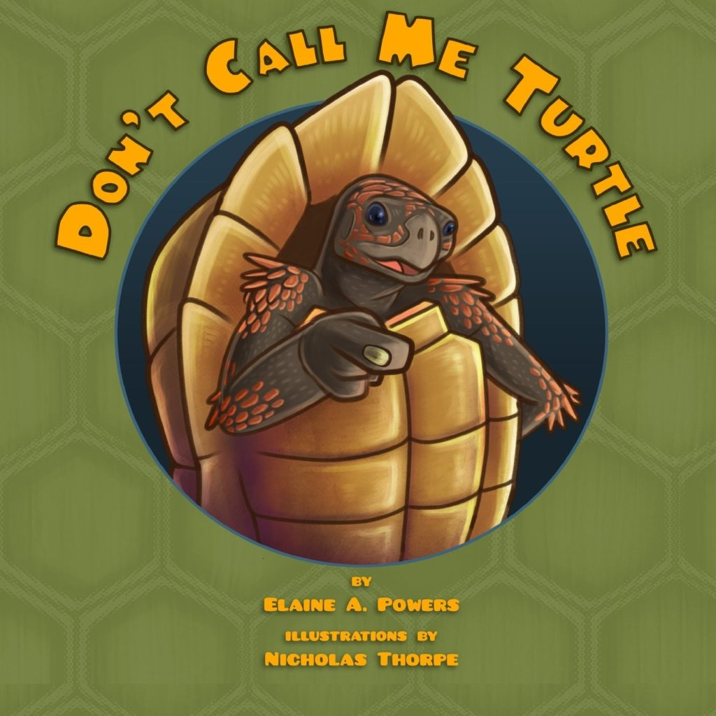 Don't CAll Me Turtle childrens picture book