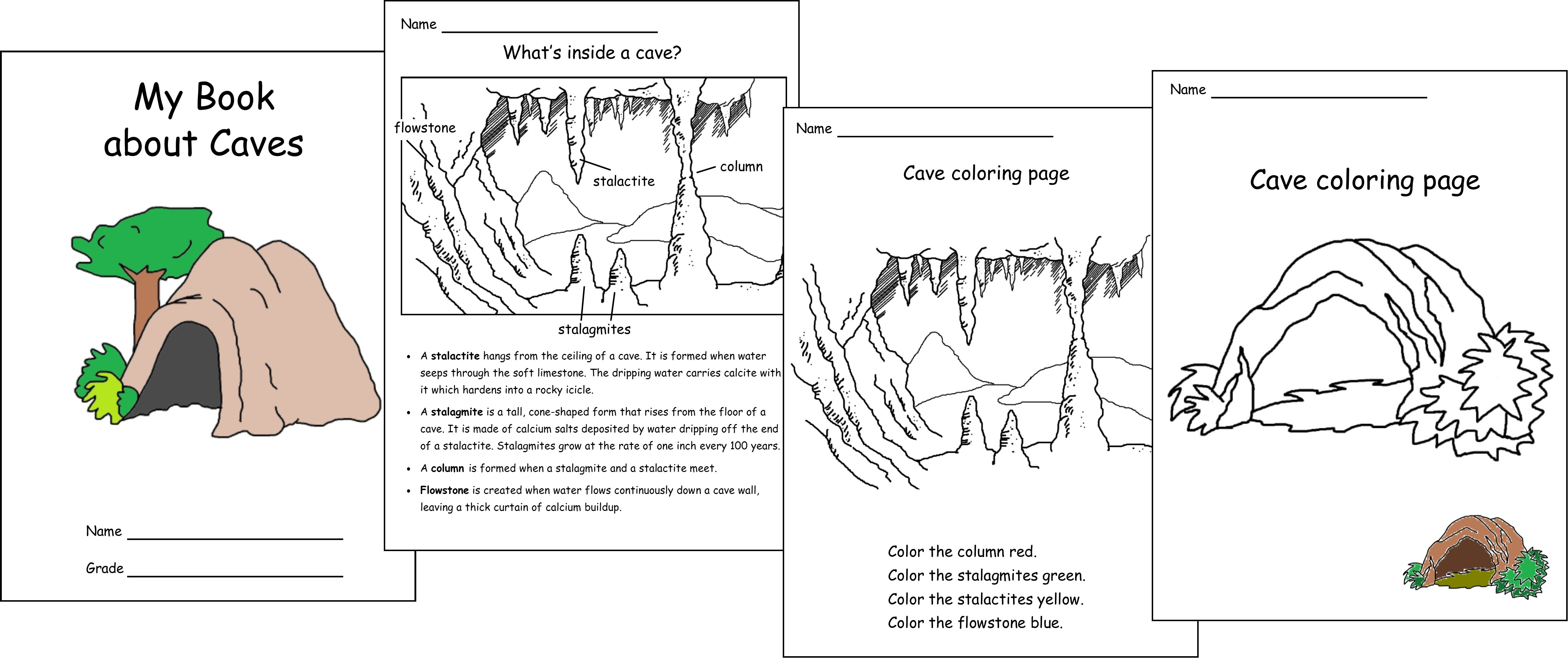 caves my book about caves