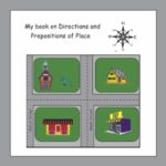 My Book on Directions and Prepositions of Place, Grades 2-4, 35 Pages