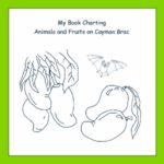 My Book Charting Animals and Fruits on Cayman Brac Grades Pre-K-K, 14 Activities