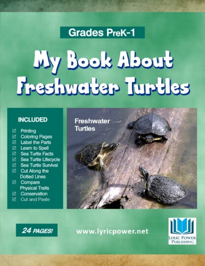 book cover of freshwater turtles book