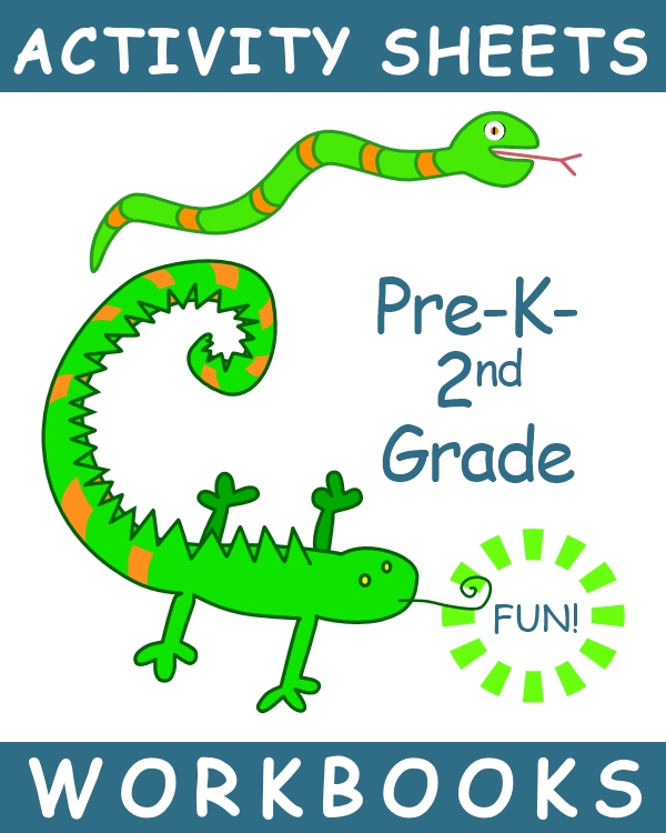 graphic for PreK-2nd workbooks