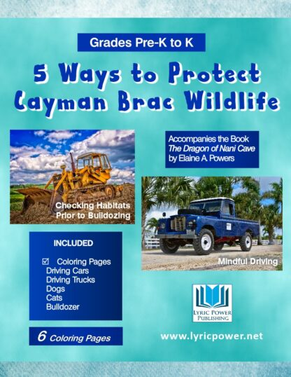 book cover 5 ways to protect cayman brac wildlife