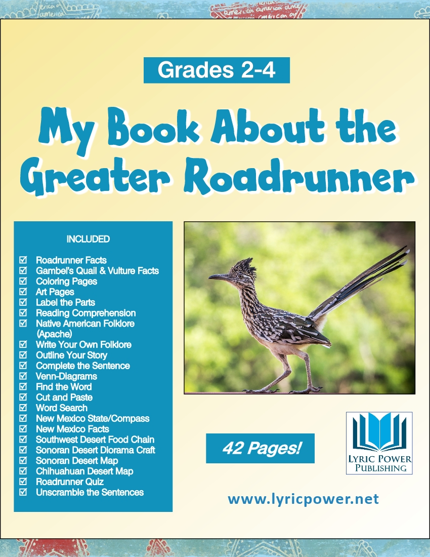 book cover Greater Roadrunner grades 2-4