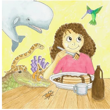illustration by Diane Ronning from children's book