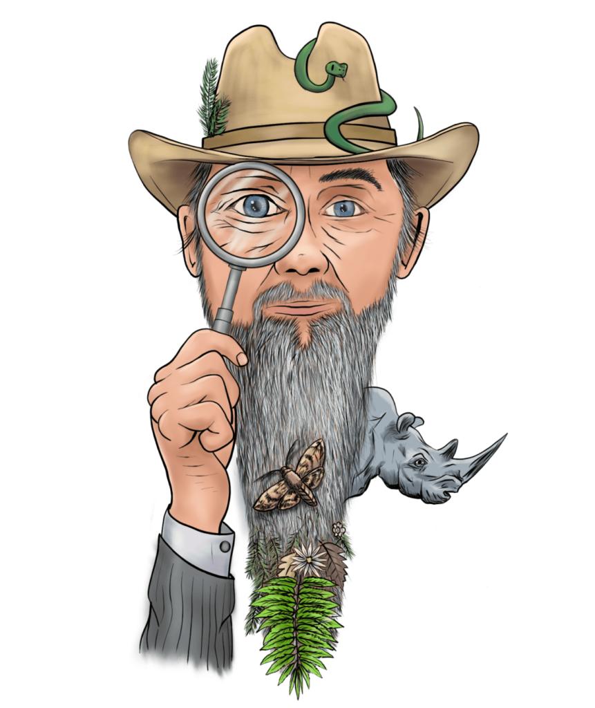illustration of author Gene Twaronite