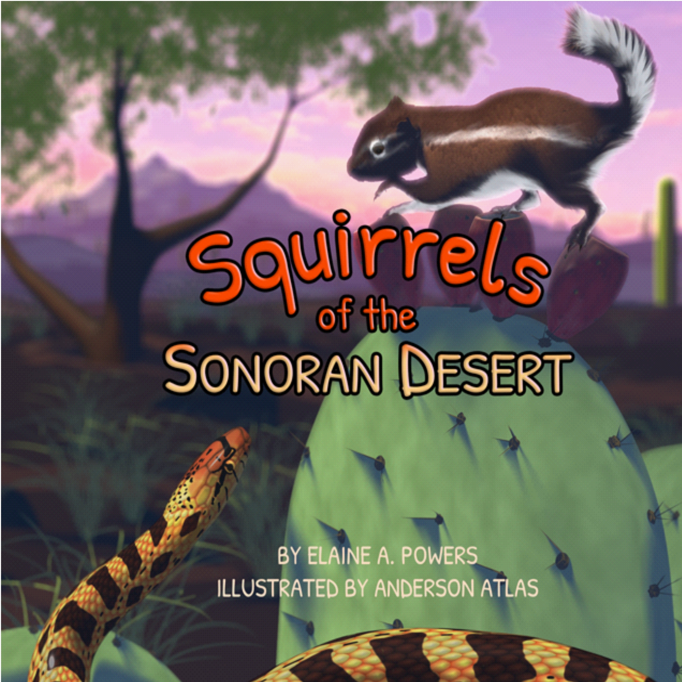 image of book cover Squirrels of the Sonoran Desert